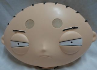 Family Guy Stewie Griffin PVC Plastic Vacuform Mask Licensed Disguise 24643