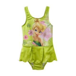 Disney Fairies Tinkerbell Swimsuit Bathing Suit Toddler Girl Size 3T