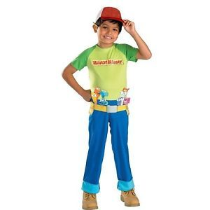 Boys 2T Handy Manny Halloween Costume Toddler Dress Up Cartoon Disney