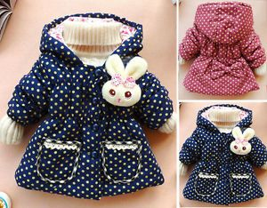 Cute Baby Girls Kids Toddler Clothes Child Winter Warm Jacket Gown Coat Snowsuit