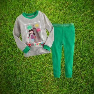"2pcs Vaenait Baby Toddler Kids Clothes Sleepwear Pajama Set""New York Girl""12 24M"