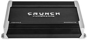 Crunch PZ2400 2 2 400 Watt Max 2 Channel Amplifier Powerzone Series Car Amp