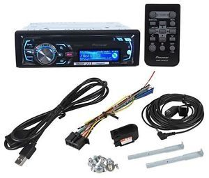 Pioneer DEH X8500BS CD  USB Player Car Stereo Receiver w Bluetooth SiriusXM