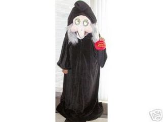 Disney Snow White Witch Costume with Apple Old Hag 4 T Child Excellent Condition