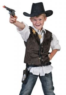 Kids Western Rodeo Cowboy Boys Halloween Costume Vest