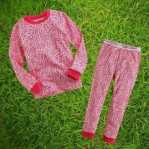 "2pcs Vaenait Baby Toddler Kids Girl Clothes Sleepwear Pajama Set""Safari Leo""6 7Y"