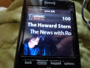 Sirius XPH1 XM Xi Portable Satellite Radio  Player Lifetime Activated