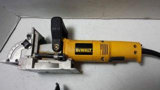 Clean Dewalt DW682 Biscuit Plate Joiner Woodworking Tool