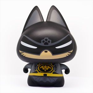 Cute Cat in Batman Cartoon Car Room Gifts Interior Accessories Decorations