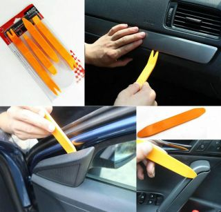 1 Set Car Door Clip Panel Trim Dash Audio Removal Installer Pry Tool Repair 4pcs