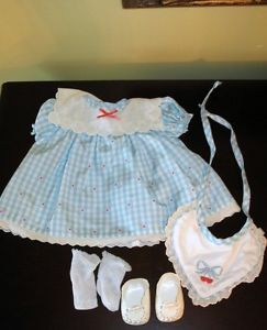 RARE Our New Baby Early Bitty Baby Outfit Clothes Big Lot Pleasant Co