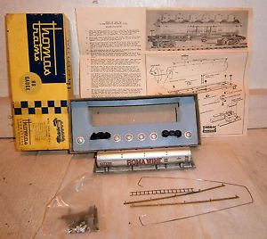 Vintage Thomas Industries All Metal HO Scale Roma Wine Tank Car Kit NIB