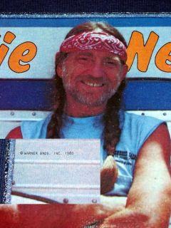 Vtg 1980 Willie Nelson Highwaymen Country Dukes Hazzard Kris Johnny Cash T Shirt