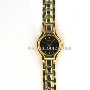 Seiko Quartz Gold Womens Watch
