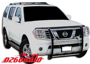 Nissan Pathfinder Frontier Xterra Stainless Steel Grille Grill Guard Push