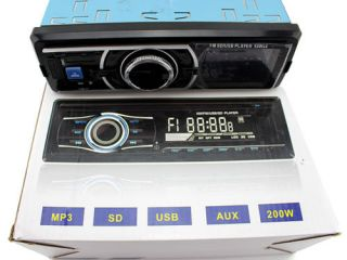 45W 4 in Dash Am FM CD  WMA Aux in Car Stereo Player USB SD MMC Slots Remote