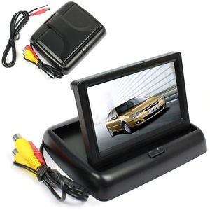 """4 3"""" TFT LCD Color HD Collapsible Shade Car Monitor for DVD Camera GPS Sell Well"""
