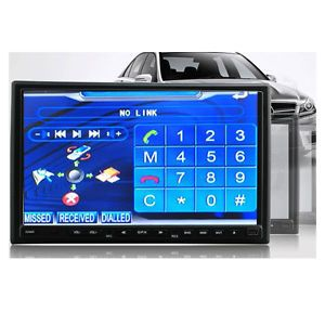 2Din 7 inch Touch Screen Car DVD Player Radio iPod iPhone Bluetooth Phone Call