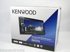 "Kenwood DDX370 DVD CD 6 1"" Touchscreen CD DVD Car Stereo Receiver Player"