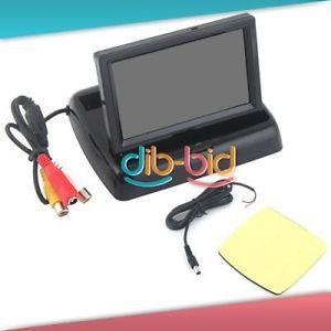 "4 3"" TFT LCD Mini Car Monitor Folded Security Camera 2"