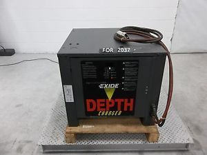 Exide D3E2 18 850 Depth Charger Hi Lo Battery Charger FOR2037
