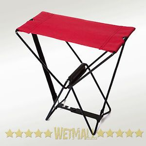 Pocket Chair Fold Up Portable Seat Camping Hiking Gardening Fishing Lawn Chair
