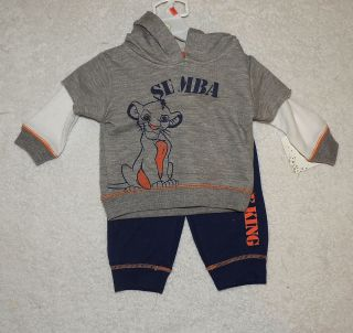 New Disney Baby Lion King Simba Outfit Size 0 3 Months Baby Shower Gift