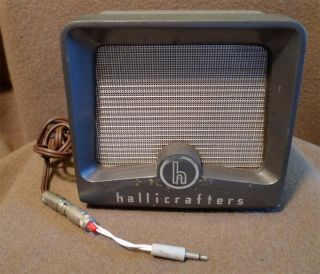 Hallicrafters Communications Speaker