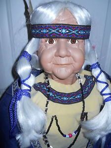 "Ashley Belle Native American Indian Chilali 34"" Doll"