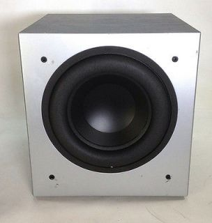 "Polk Audio PSW505 12"" Powered Subwoofer Single Home Audio Black"
