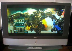 "Sony Grand WEGA KF 42WE610 42"" 720P DLP HD TV LCD Television w Remote Nice"