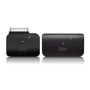 iSkin Cerulean Bluetooth A2DP Audio Transmitter Receiver for iPod iPod Docks