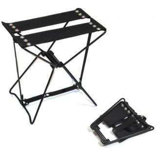 Amazing Pocket Chair Mini Fold Up Portable Seat Folding Camping Hiking Gardening
