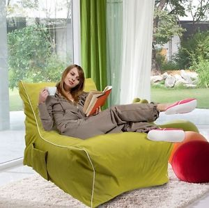 Cozy Chair Bean Bag Chair L Gaming Chair Boy Girl Bedding Huge Light Green