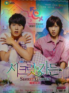 Secret Garden 秘密花園 玄彬 Hyun Bin Korean Drama DVD Cantonese Option English Sub