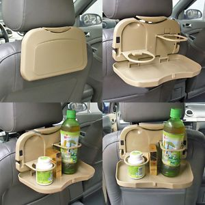 Car Auto Dining Meal Drink Food Cup Table Desk Tray Stand Holder Support Mount
