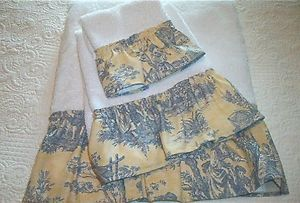 4 Waverly Rustic Country Life Sage Green Toile Cafe