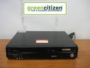 Panasonic DMR EZ37V DVD VHS Player Recorder Combo