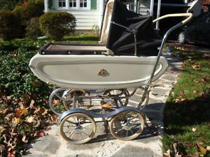Baby Stroller Carriage Pram Vintage 60s Stroll O Chair Great Condition 1960'S