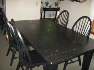 Broyhill Attic Heirlooms Dining Room Table W Chairs ...