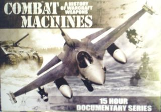 Combat Machines A History of Warcraft Weapons 15 Hours Documentary Series DVD