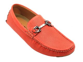 Men's Summer Perforated Moccasins Loafer Slip on Casual Comfort Driving Shoes