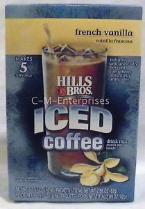 Hills Bros French Vanilla Iced Coffee Drink Mix 2 89 Oz