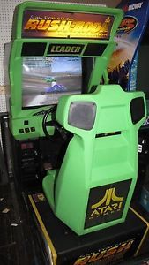 San Francisco Rush The Rock Alcatraz Edition Sit Down Driving Arcade Game