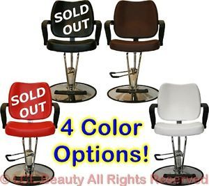 4 Colors Professional Hydraulic Barber Styling Chair Beauty Hair Salon Equipment