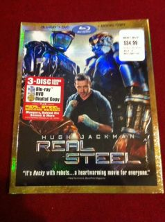 Slip Cover Only Blu Ray DVD No Movie Real Steel