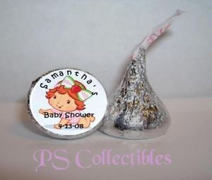 108 Strawberry Shortcake Baby Shower Kiss Party Favors