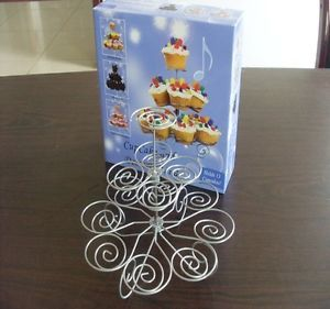 New 3 Tier Cupcake Stand Tree Holder Muffin Display Stand Party Supplies