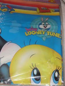 New Baby Looney Tunes Tweety Taz Sylvester Plastic Tablecover Party Supplies