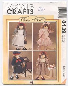 Betsy McCall 8139 784 18 Doll Sailor Victorian Historical Clothes Shoes Pattern